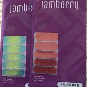 Glitter Jamberry nail wraps